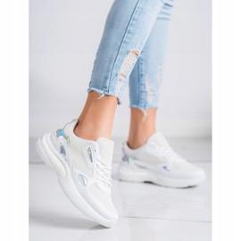 Creamberry'S Sneakersy Z Wstawkami Holo białe wielokolorowe 2