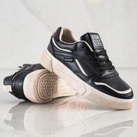 Ax Boxing Czarne Buty Sportowe beżowy 2