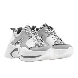Białe sneakersy Thenisse 1