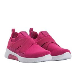 Big Star różowe sneakersy Alisha 1