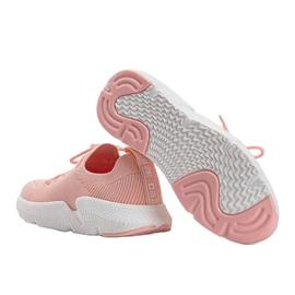 Big Star Różowe sneakersy Catlin 1