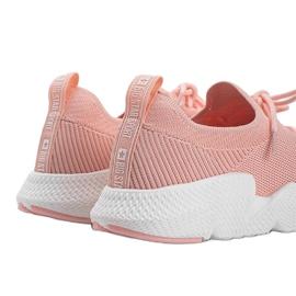 Big Star Różowe sneakersy Catlin 3