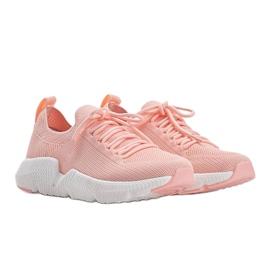 Big Star Różowe sneakersy Catlin 4