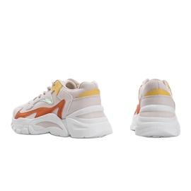 Beżowe sneakersy sportowe Lesly beżowy 2