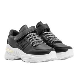 Czarne sneakersy sportowe Lollypop 1