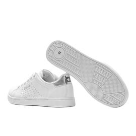 Big Star sneakersy niskie klasyczne białe Angelise 2