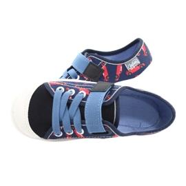 Befado obuwie dziecięce  251X160 czerwone granatowe niebieskie 5