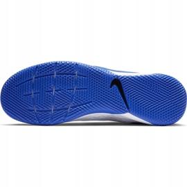 Buty piłkarskie Nike Tiempo React Legend 8 Pro Ic AT6134 104 niebieskie białe 7