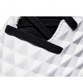 Buty piłkarskie Nike Tiempo React Legend 8 Pro Ic AT6134 104 niebieskie białe 5