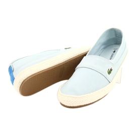 Buty Lacoste Marice 218 1 Caw W 7-35CAW004252C niebieskie 2