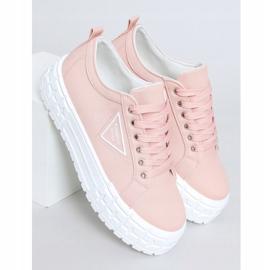 Trampki damskie różowe LA134 Pink 1