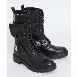 Workery ażurowe czarne NC1125P Black 1