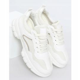 Buty sportowe beżowe 3157 Beige beżowy 1