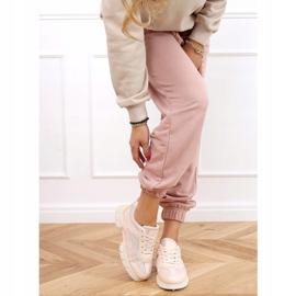 Buty sportowe różowe 3157 Pink 3