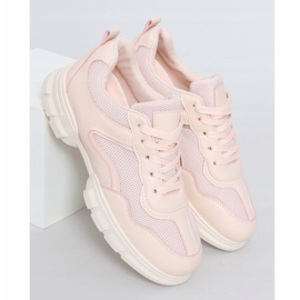 Buty sportowe różowe 3157 Pink 1