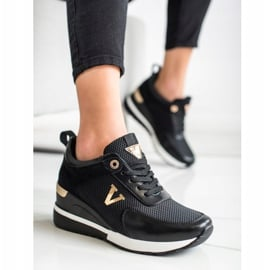 Casualowe Sneakersy VINCEZA czarne 1