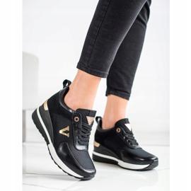 Casualowe Sneakersy VINCEZA czarne 2