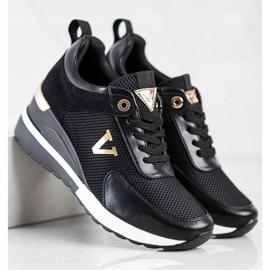 Casualowe Sneakersy VINCEZA czarne 4