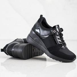Stylowe Sneakersy VINCEZA czarne 3