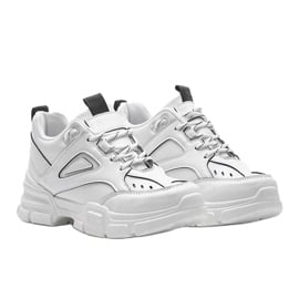 Białe sneakersy sportowe Christy 2