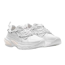 Białe trampki sneakersy Allie 1