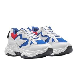 Białe sneakersy sportowe Aubrie 1