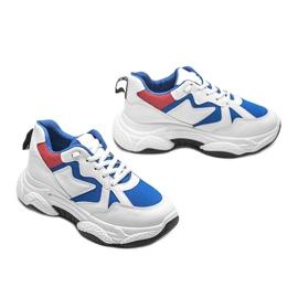 Białe sneakersy sportowe Aubrie 2