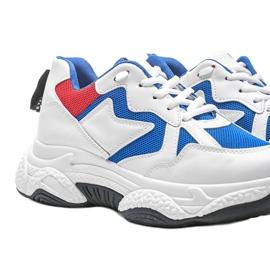 Białe sneakersy sportowe Aubrie 3