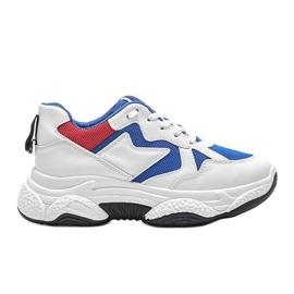 Białe sneakersy sportowe Aubrie 4
