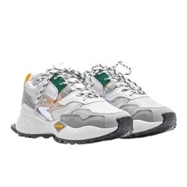 Białe sneakersy sportowe Holly 1