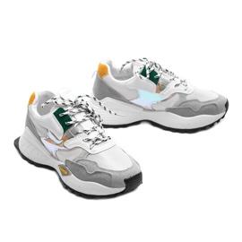Białe sneakersy sportowe Holly 2