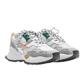 Białe sneakersy sportowe Holly 4