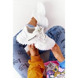 Evento Damskie Sneakersy Na Masywnej Podeszwie Białe Laugh 1