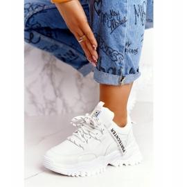 Evento Damskie Sneakersy Na Masywnej Podeszwie Białe Laugh 2