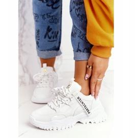 Evento Damskie Sneakersy Na Masywnej Podeszwie Białe Laugh 3
