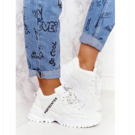 Evento Damskie Sneakersy Na Masywnej Podeszwie Białe Laugh 4