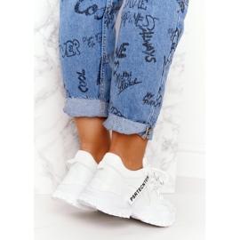 Evento Damskie Sneakersy Na Masywnej Podeszwie Białe Laugh 6