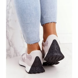 PS1 Damskie Sportowe Buty Sneakersy Szare Move On 4