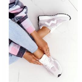 PS1 Damskie Sportowe Buty Sneakersy Szare Move On 5