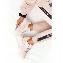 PS1 Damskie Sneakersy Na Dużej Podeszwie Beżowe Good Mood beżowy 3