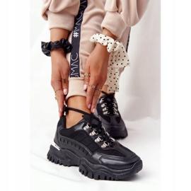 PS1 Damskie Sneakersy Na Dużej Podeszwie Good Mood czarne 2