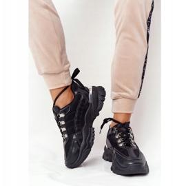 PS1 Damskie Sneakersy Na Dużej Podeszwie Good Mood czarne 1