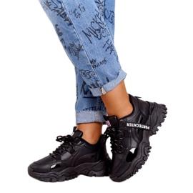 Evento Sportowe damskie sneakersy News 21SP26-3925 czarny czarne 2