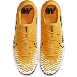 Buty piłkarskie Nike Mercurial Vapor 13 Pro Tf AT8004 801 pomarańczowe żółte 1