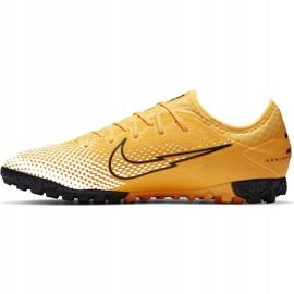 Buty piłkarskie Nike Mercurial Vapor 13 Pro Tf AT8004 801 pomarańczowe żółte 2