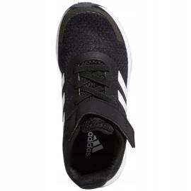 Buty adidas Duramo Sl C Jr FX7314 białe czarne 1