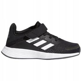 Buty adidas Duramo Sl C Jr FX7314 białe czarne 2
