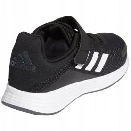 Buty adidas Duramo Sl C Jr FX7314 białe czarne 5