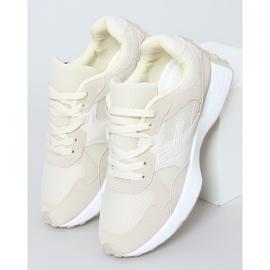 Buty sportowe beżowe BL209P Beige beżowy 1
