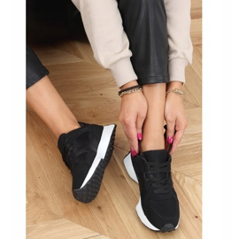 Buty sportowe czarne BL209P Black 3